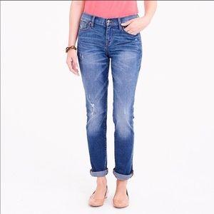 J. Crew Slim Boyfriend Jeans Stretch Size 34